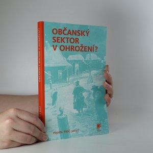 náhled knihy - Občanský sektor v ohrožení?