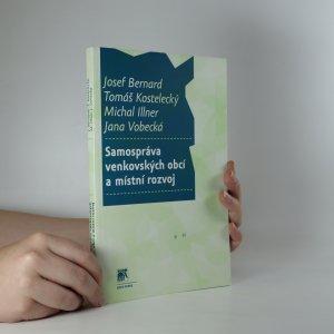 náhled knihy - Samospráva venkovských obcí a místní rozvoj