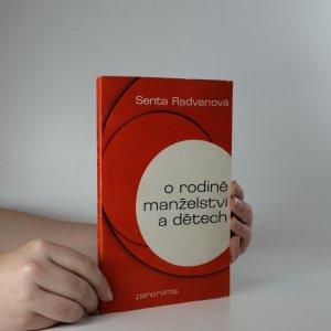 náhled knihy - O rodině, manželství a dětech