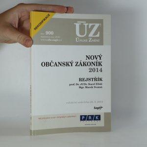 náhled knihy - Nový občanský zákoník 2014