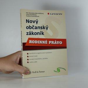 náhled knihy - Nový občanský zákoník. Rodinné právo