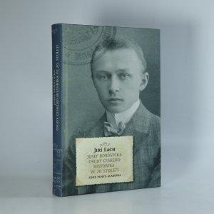 náhled knihy - Josef Borovička. Osudy českého historika ve 20. století