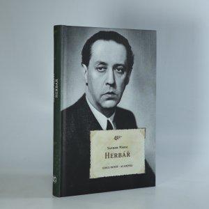 náhled knihy - Herbář
