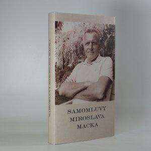 náhled knihy - Samomluvy Miroslava Macka
