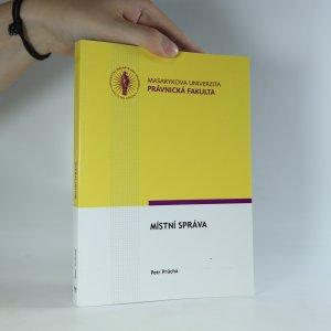 náhled knihy - Místní správa