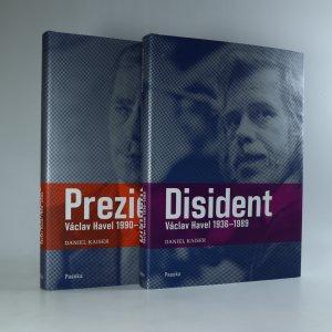 náhled knihy - Disident. Prezident. Václav Havel