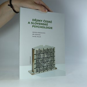 náhled knihy - Dějiny české a slovenské psychologie