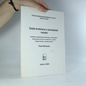 náhled knihy - Česká společnost a sociologické poznání