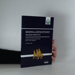 náhled knihy - Rodina a společnost. Sborník Příspěvků