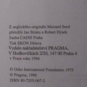 antikvární kniha Hořčičné semínko. Promluvy o evangeliu podle svatého Tomáše, 1996