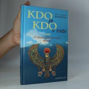 náhled knihy - Kdo je kdo v nebi, aneb O prostopášnosti bohů