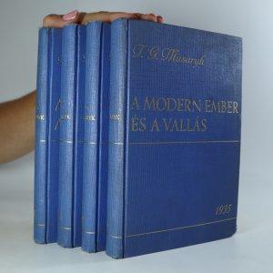 náhled knihy - 4x T. G. Masaryk (viz poznámka)