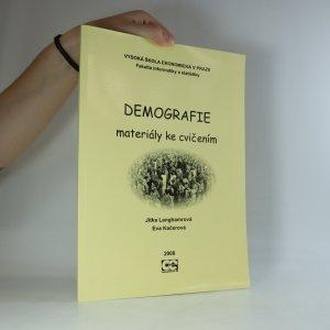 náhled knihy - Demografie. Materiály ke cvičením