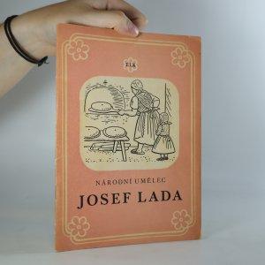 náhled knihy - Josef Lada. Kresby a ilustrace