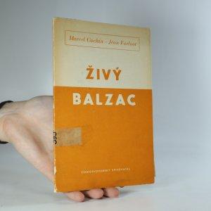 náhled knihy - Živý Balzac. Studie