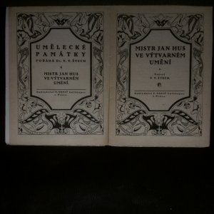 antikvární kniha Mistr Jan Hus (Umělecké památky 4), 1916