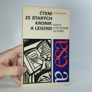 náhled knihy - Čtení ze starých kronik a legend