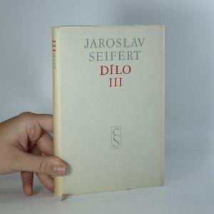 náhled knihy - Dílo III. díl 1937-1952