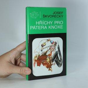 náhled knihy - Hříchy pro pátera Knoxe