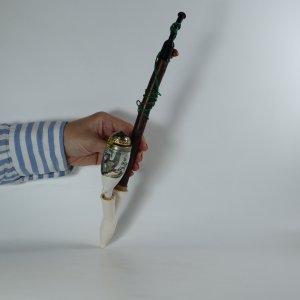 náhled knihy - Dýmka (fajfka) porcelánová s tetřevem, nekouřená
