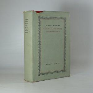 náhled knihy - Kronika vlády Karla IX. a vybrané novely