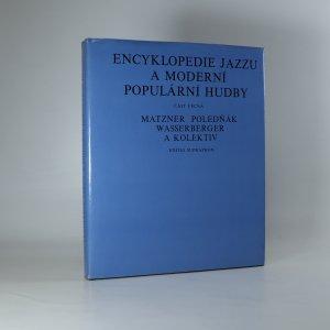 náhled knihy - Encyklopedie jazzu a moderní populární hudby. I. Část věcná.