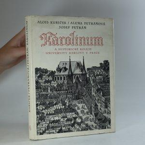 náhled knihy - Karolinum a historické koleje University Karlovy v Praze