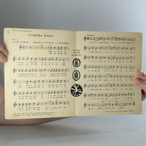 antikvární kniha Cestička života. tango, 1933