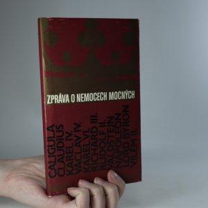 náhled knihy - Zpráva o nemocech mocných