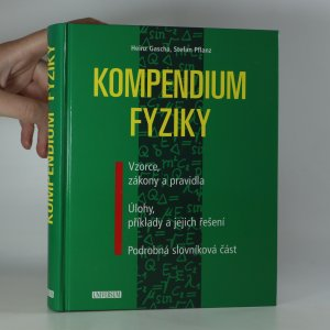 náhled knihy - Kompendium fyziky