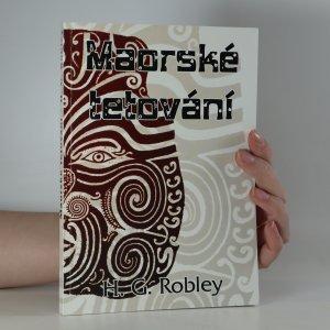 náhled knihy - Tetování mezi Maori