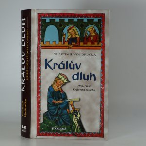 náhled knihy - Králův dluh (kniha je cítit kouřem)