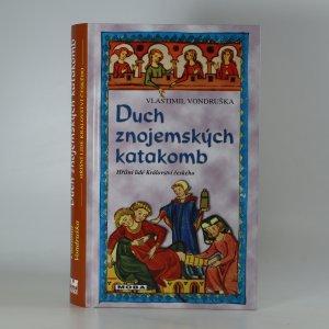 náhled knihy - Duch znojemských katakomb (kniha je cítit kouřem)