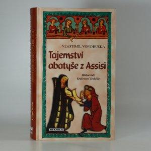 náhled knihy - Tajemství abatyše z Assisi (kniha je cítit kouřem)