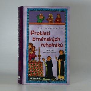 náhled knihy - Prokletí brněnských řeholníků (kniha je cítit kouřem)