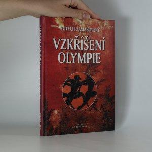 náhled knihy - Vzkříšení Olympie (kniha je cítit kouřem)