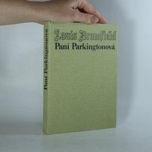 náhled knihy - Paní Parkingtonová