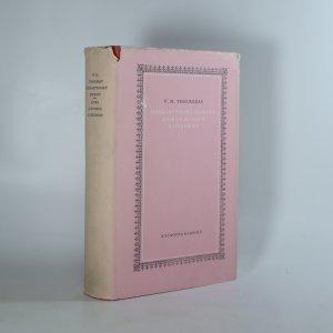 náhled knihy - Hoggartyovský diamant, Kniha o snobech a jiné prózy