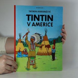 náhled knihy - Tintin v Americe