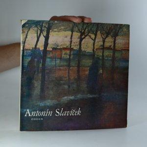 náhled knihy - Antonín Slavíček (kniha je cítit kouřem)