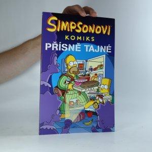 náhled knihy - Simpsonovi. Komiks. Přísně tajné