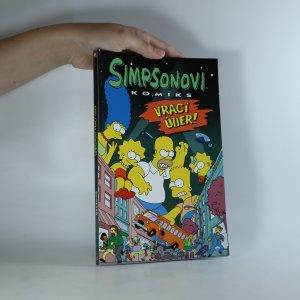 náhled knihy - Simpsonovi vrací úder!