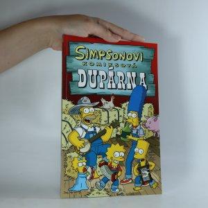 náhled knihy - Simpsonovi. Komiksová dupárna