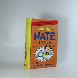 náhled knihy - Velkej frajer Nate startuje