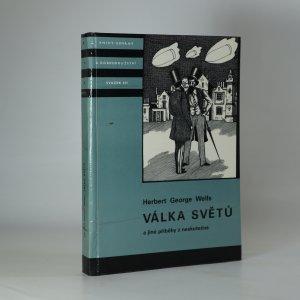 náhled knihy - Válka světů a jiné příběhy z neskutečna (kniha je cítit kouřem)