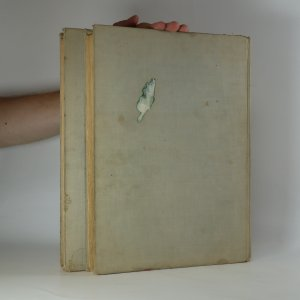antikvární kniha Soustavná anatomie člověka I. a II. (2 svazky; knihy jsou cítit kouřem) , 1955