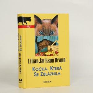 náhled knihy - Kočka, která se zbláznila (kniha je cítit kouřem)