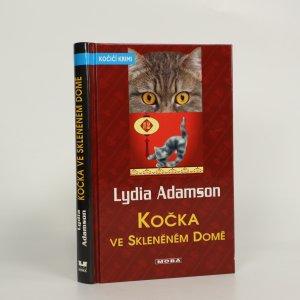 náhled knihy - Kočka ve skleněném domě (kniha je cítit kouřem)