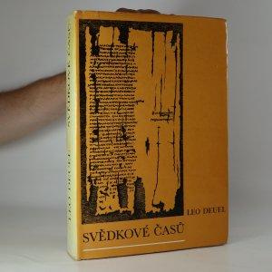 náhled knihy - Svědkové časů (kniha je cítit kouřem)