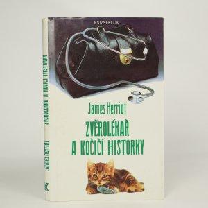 náhled knihy - Zvěrolékař a kočičí historky  (kniha je cítit kouřem)